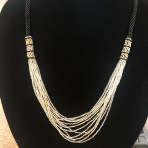 Hand-Made Beaded Necklace